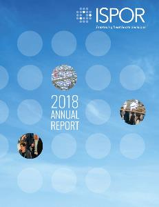 ISPOR 2018 Annual Report Cover