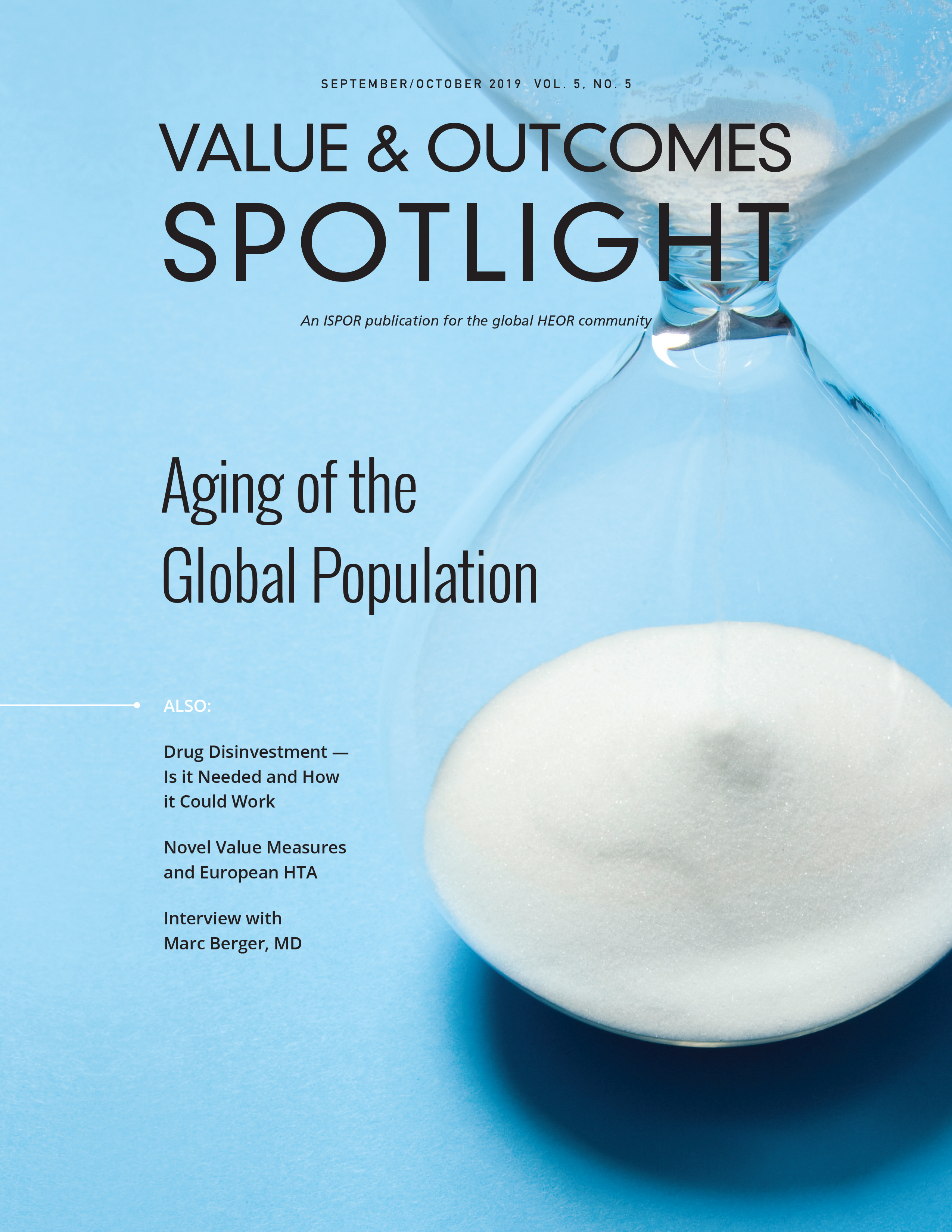 VOS Cover Sept Oct 2019 - Aging of the Global Population