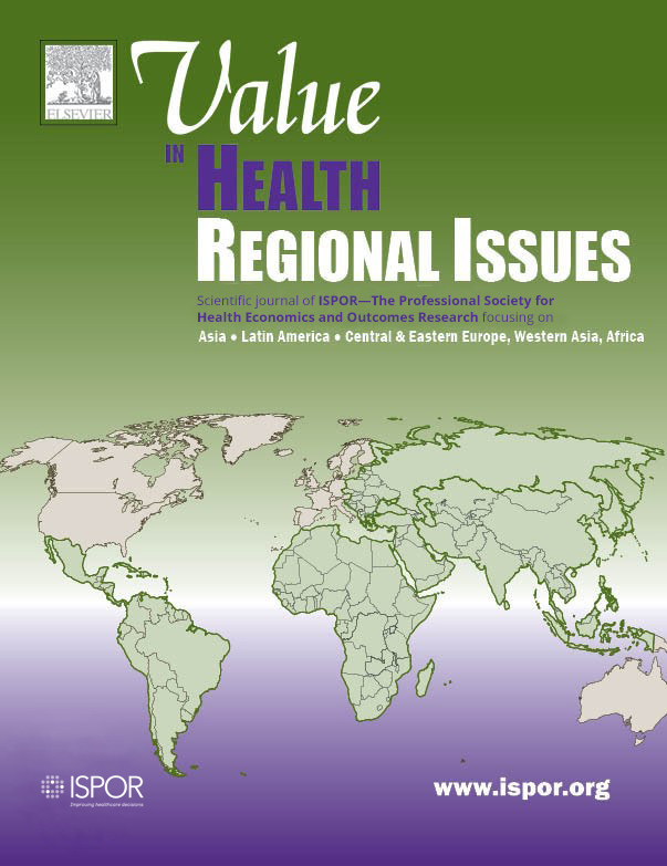 Value in Health Regional Issues cover