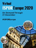 Virtual ISPOR Europe 2020 is now available on demand through 31 December.