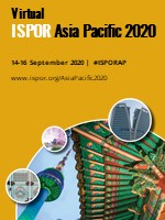 Virtual ISPOR Asia Pacific 2020 Conference Banner