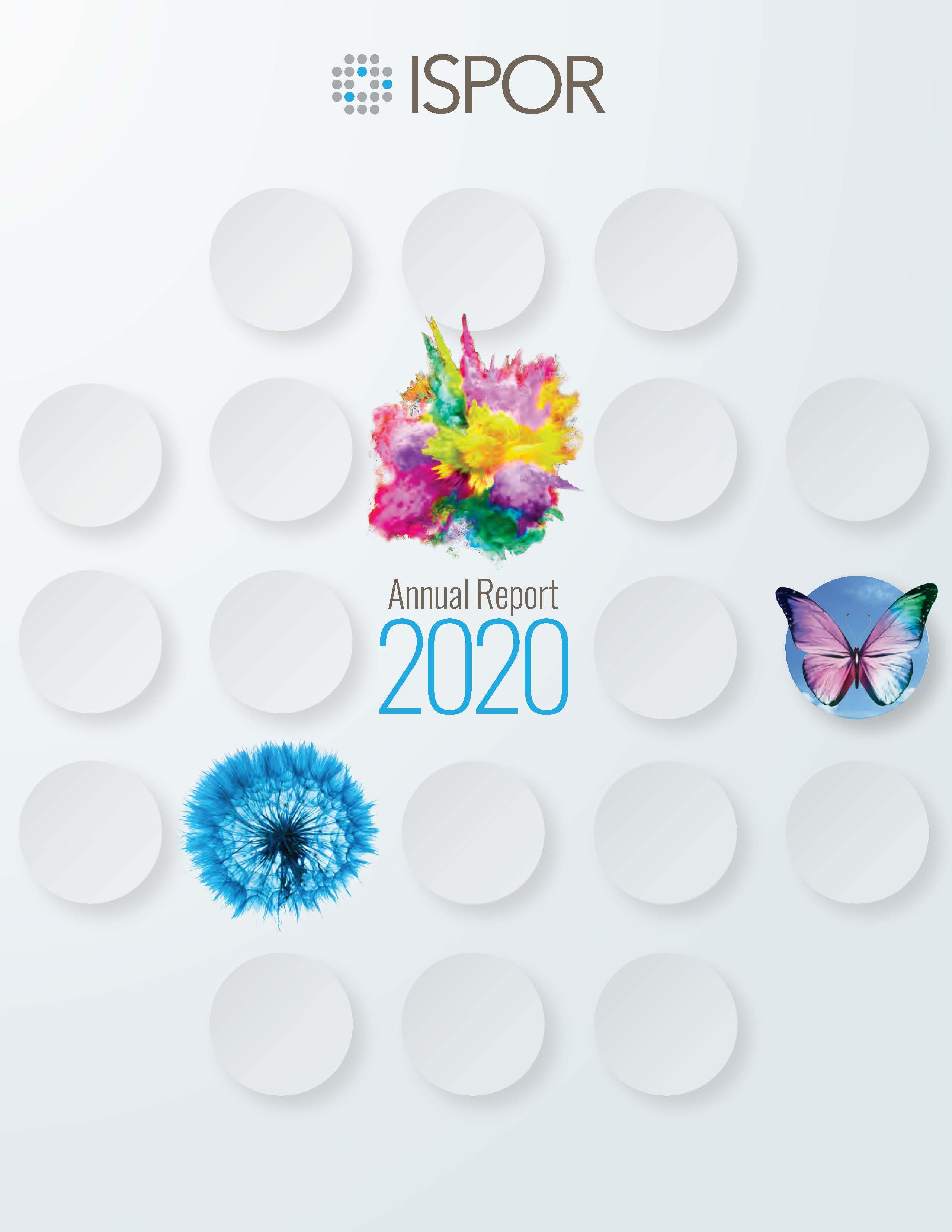 ISPOR Annual Report 2020 Cover