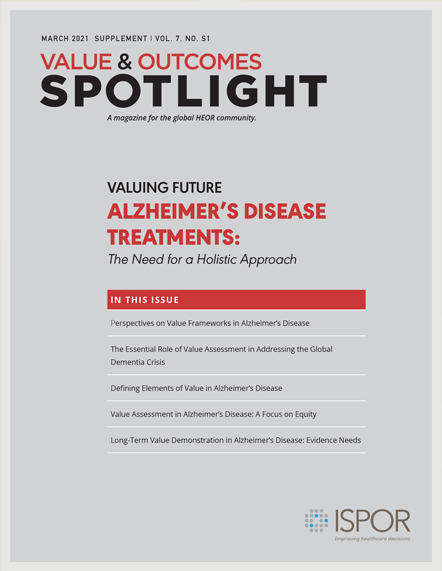 Value & Outcomes Spotlight Supplement Cover, March 2021